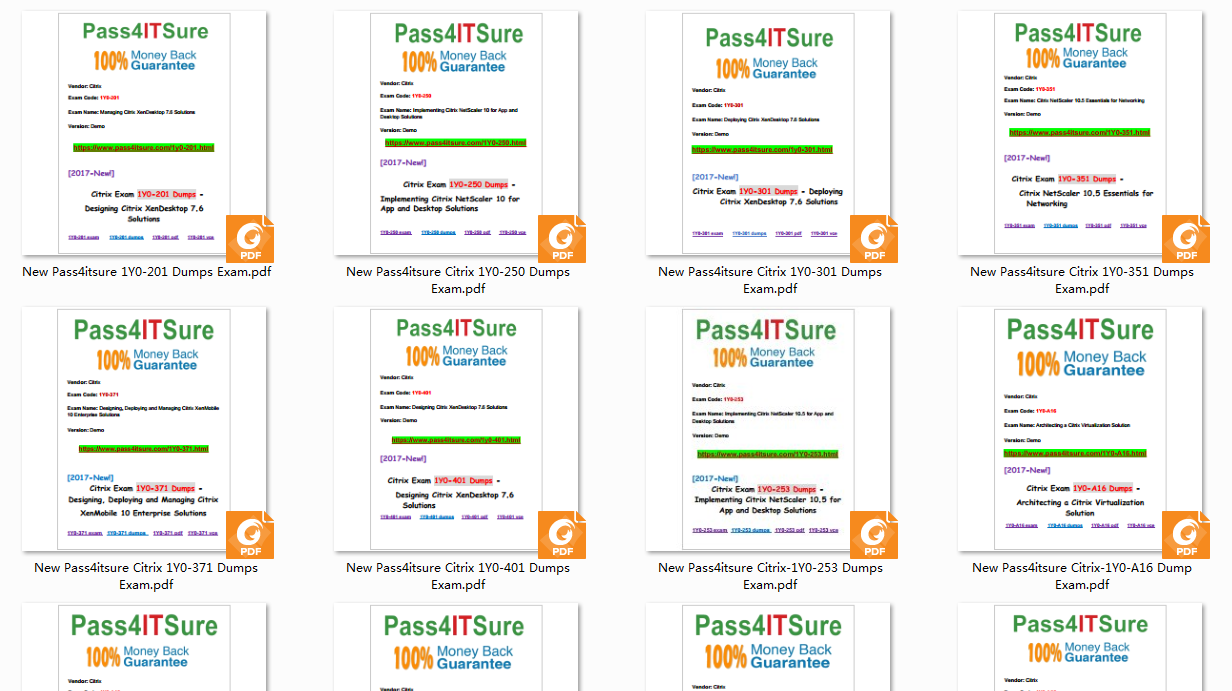 pass4itsure Citrix